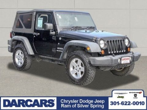 Pre-Owned 2012 Jeep Wrangler Sport Four Wheel Drive SUV