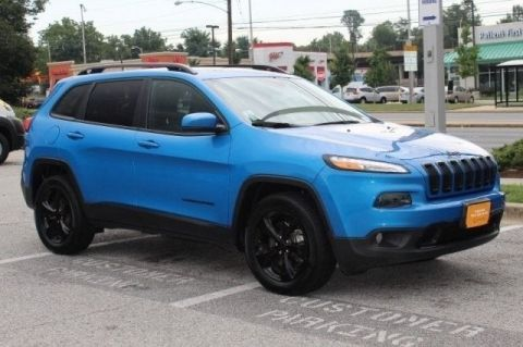 Pre-Owned 2018 Jeep Cherokee 4DR 4WD Four Wheel Drive SUV