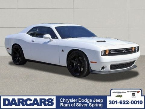 Pre-Owned 2018 Dodge Challenger R/T Scat Pack Rear Wheel Drive 2dr Car