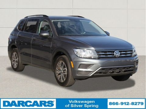 Pre-Owned 2019 Volkswagen Tiguan SE All Wheel Drive SUV