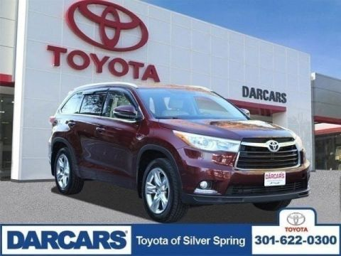 Pre-Owned 2015 Toyota Highlander Limited AWD Sport Utility