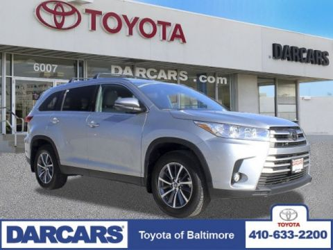 Certified Pre-Owned 2019 Toyota Highlander XLE AWD Sport Utility