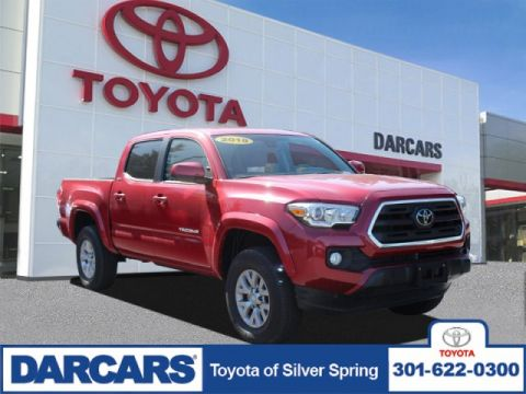 Pre-Owned 2018 Toyota Tacoma SR5 4WD Crew Cab Pickup