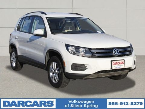 Pre-Owned 2016 Volkswagen Tiguan S Front Wheel Drive SUV