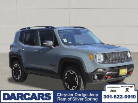 Pre-Owned 2015 Jeep Renegade Trailhawk Four Wheel Drive SUV